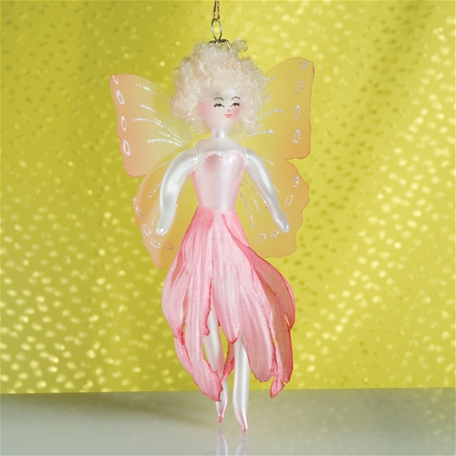 Fairy Christmas Ornaments.De Carlini Garden Fairy Christmas Ornament Italian Ornaments